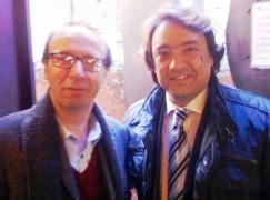 Ivan Tripodi (PdCI) incontra a Roma Roberto Benigni