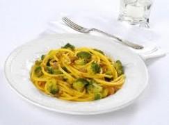 Bucatini alla cernia e broccoli