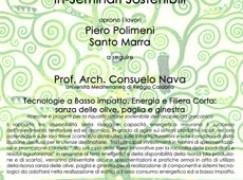 """Roghudi (RC), seminario su """"Gli InSeminari Sostenibili"""""""
