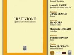 """Bova Marina (RC), presentazione del libro """"Tradizione"""" di Domenico Minuto"""