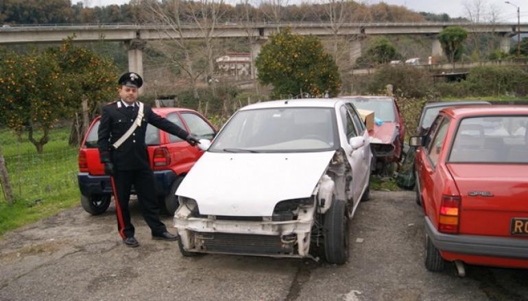 Cinquefrondi (RC), 2 persone arrestate, 1 ricercata e 1 denunciata per riciclaggio di auto rubate
