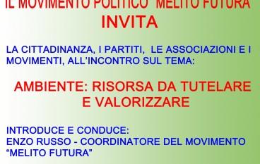 Melito di Porto Salvo (RC), il 3 febbraio incontro organizzato da Melito Futura