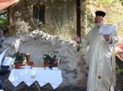 Montebello Jonico (RC), orazione in rito greco bizantino nel giorno di S. Anastasio il Persiano