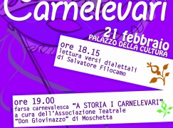 "Locri (RC), il 21 febbraio ""Carnelevari"""