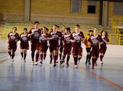 Locri (RC), cerimonia di premiazione Sporting Locri calcio a 5 femminile