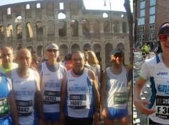 Delegazione di podisti melitesi partecipa alla 18esima Maratona di Roma