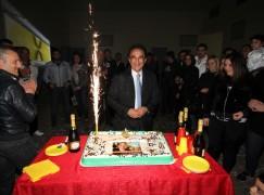 Germaneto (CZ), una festa di compleanno all'insegna del divertimento per Sergio Abramo