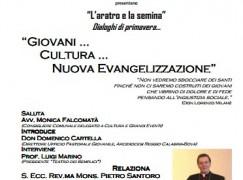 """Reggio Calabria, il Teatro dei Semplici organizza incontro su """"Giovani…Cultura…Nuova Evangelizzazione"""""""