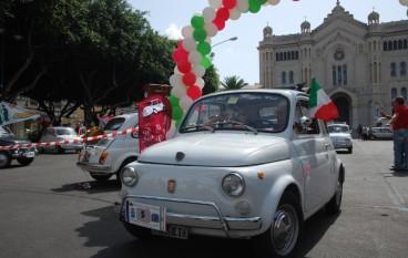 """Il Club Fiat 500 organizza a Reggio Calabria il 3° Raduno """"Party in 500"""""""