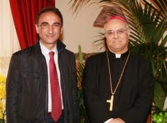 Catanzaro, Sergio Abramo ha incontrato l'Arcivescovo Vincenzo Bertolone