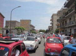 Arriva il 5° Raduno delle 500 organizzato dal Club FIAT 500 Locri