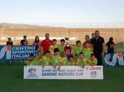 """Danone Nations Cup 2012, la """"Armando Segato-Promesse Viola"""" vince la tappa calabrese e si candida al titolo nazionale"""