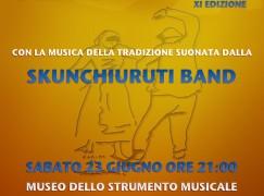 Reggio Calabria, Festa del Kordax al Museo dello Strumento Musicale con la Skunchiuruti Band