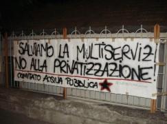 """Comitato Lametino Acqua Pubblica: """"Salviamo la Multiservizi. No alla privatizzazione!"""""""