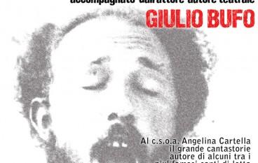 Al csoa Cartella Pino Masi e Giulio Bufo per una serata di musica e teatro sociale