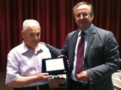 Provincia, Verduci prende parte ai festeggiamenti per il pensionamento del dipendente Cagliostro