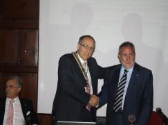 A Cosenza si è svolta la cerimonia annuale del Passaggio delle Consegne del Rotary Club