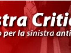 """Sinistra Critica Calabria: """"Continua il massacro sociale. Questa volta tocca al lavoro pubblico"""""""