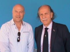 Coni Calabria, l'ambasciatore Morabito visita la sede della Scuola dello Sport