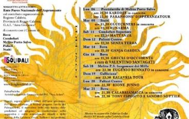 Paleariza 2012, il programma ufficiale