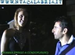 La campionessa Arianna Errigo a Condofuri
