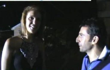 Arianna Errigo a Condofuri (Rc), festa ed intervista