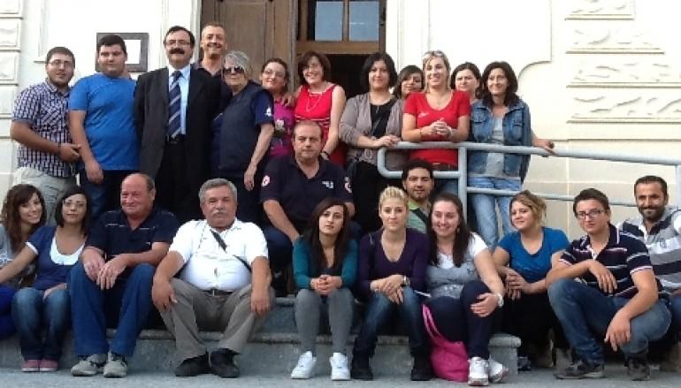 Bova (RC): Concluso il primo corso base per operatori di Croce Rossa