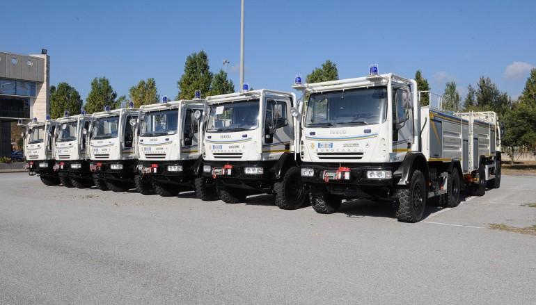 Calabria, la colonna mobile della Protezione Civile si dota di 35 nuovi automezzi