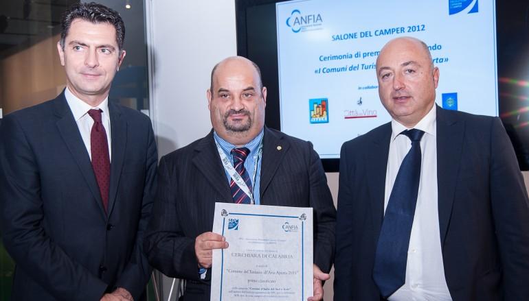 """Il Comune di Cerchiara di Calabria (CS) è stato premiato con il titolo di """"Comune del Turismo all'Aria Aperta"""""""
