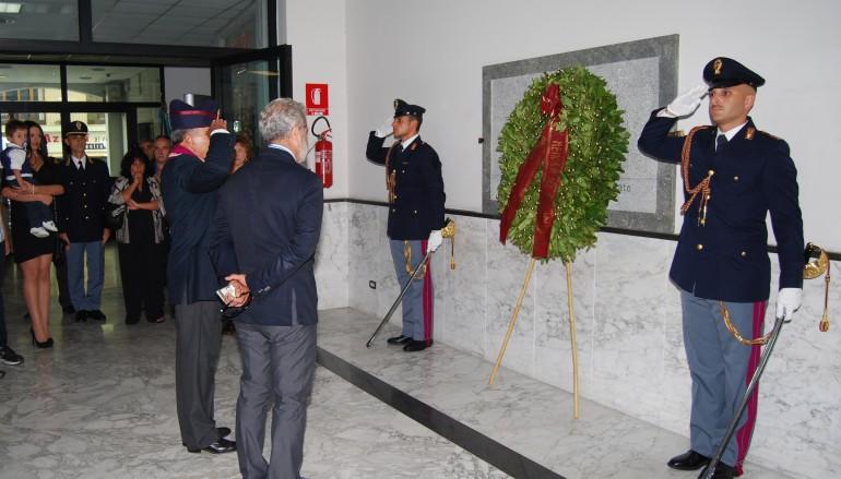 Reggio Calabria, ricordato in Questura l'anniversario della morte del brigadiere Vincenzo Curigliano