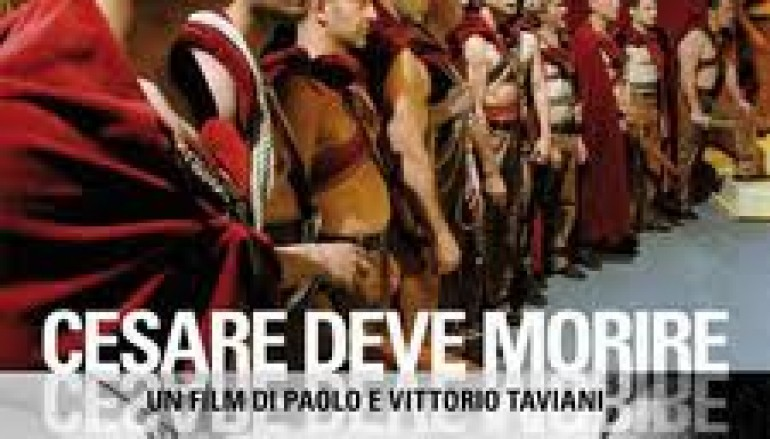 """Cinema dentro le Mura: proiettato presso la Casa Circondariale di Palmi il film """"Cesare deve morire"""""""