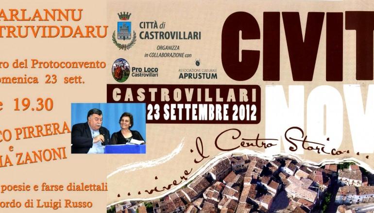 Castrovillari (CS), Civita…nova 2012: per ricordare Luigi Russo il 23 settembre