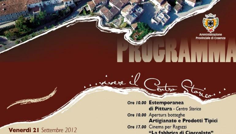 Castrovillari (CS), inizia oggi Civita..nova