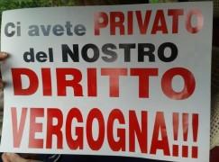 Catanzaro, la lotta degli ex dipendenti delle FdC continua