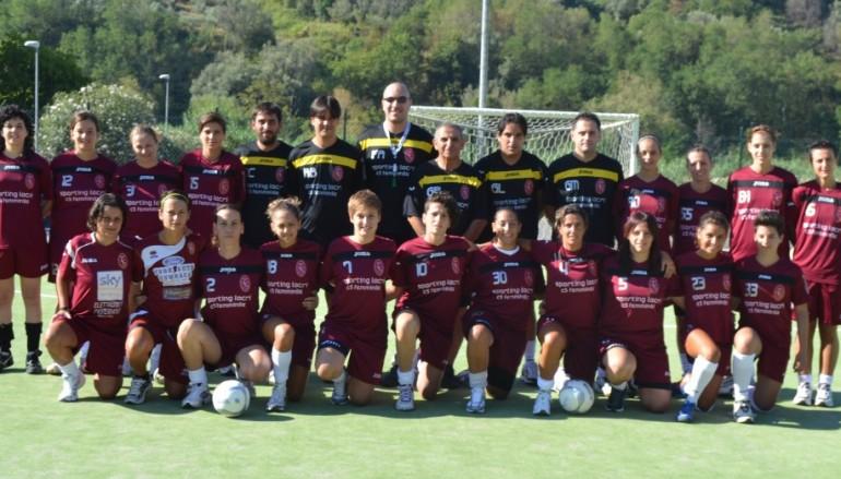 Sporting Locri, inizia l'avventura da serie A