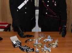 Sant'Agata del Bianco (RC), un arresto per detenzione abusiva di armi