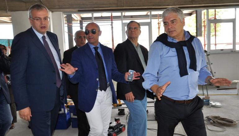 ASP Catanzaro, sopralluogo di Talarico al Pronto Soccorso dell'Ospedale di Lamezia Terme