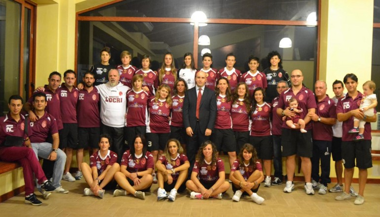 Sporting Locri, inizia l'avventura. Presentata la squadra di serie A