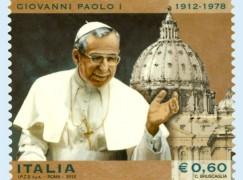Reggio Calabria, presentazione francobollo dedicato a Papa Giovanni Paolo I