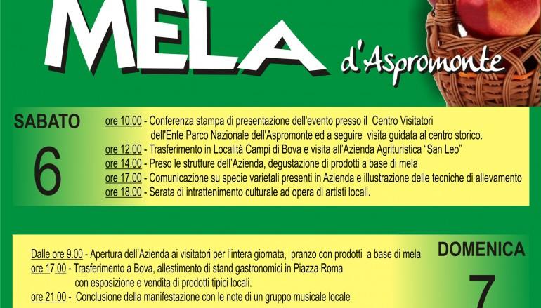 Bova (RC), conferenza stampa di presentazione della 1^ sagra della mela d'Aspromonte