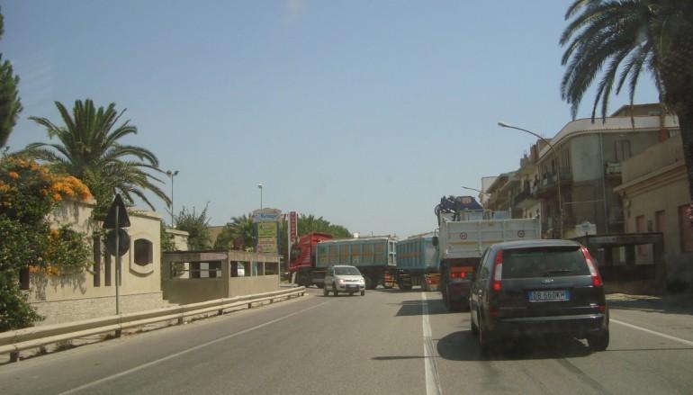 Lazzaro (RC), tratto urbano di SS 106 ad elevato indice di pericolosità