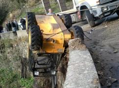 Frane a Roccaforte del Greco (RC), interrotta la strada nei pressi di Paci