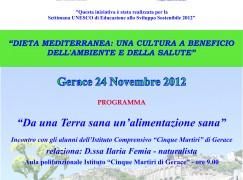 Settimana UNESCO di Educazione allo Sviluppo Sostenibile a Gerace (RC)