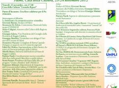 """A Palmi l'evento """"Punto d'Incontro: Patrimonio e sviluppo sostenibile, i Siti Unesco e la Calabria"""""""