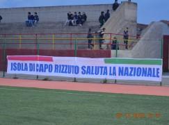 La nazionale italiana di B premiata a Isola Capo Rizzuto