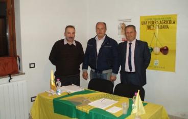 Bisignano (CS), eletto il nuovo Presidente Coldiretti Ivo Scrivano