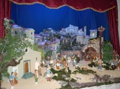 Inaugurato il Presepe Artistico di Platania (Cz)