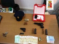 Melito di Porto Salvo (RC), deteneva illegalmente armi e munizioni, arrestato