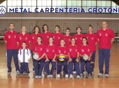 Pallavolo, Metal Carpenteria KR- Yamamy Lamezia 3-1
