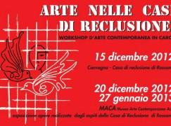 Arte nella Casa di Reclusione di Rossano, workshop d'arte contemporanea in carcere